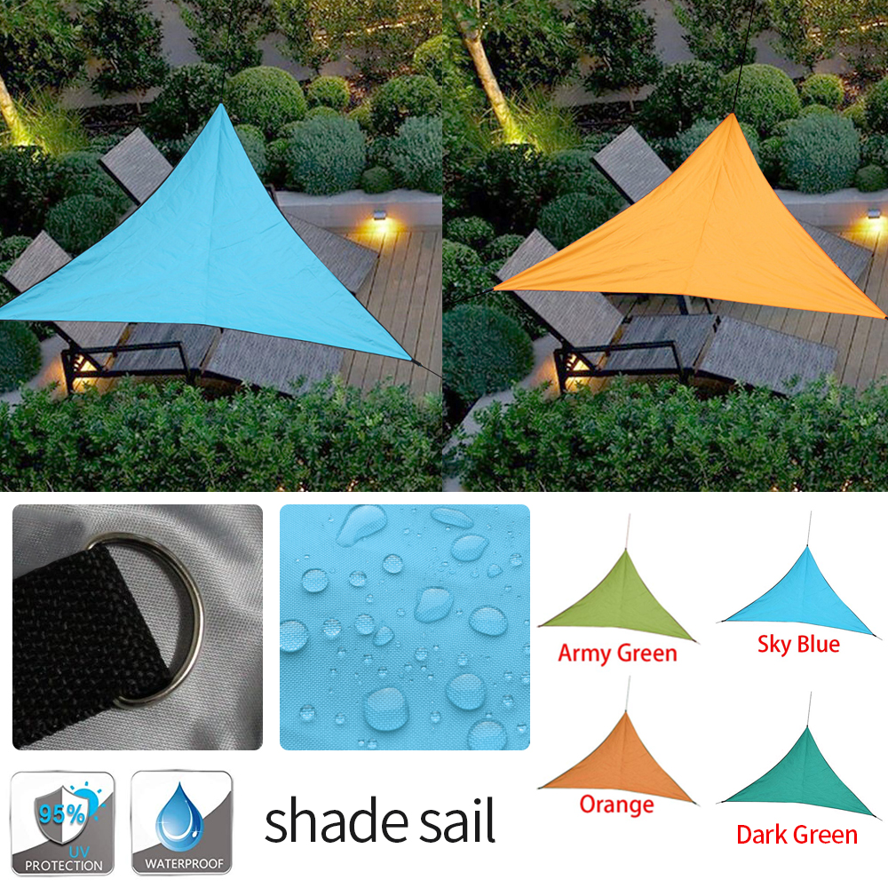 Voile D Ombrage Imperméable details about sail shading solar uv protection waterproof tense parasol  triangular 25- show original title