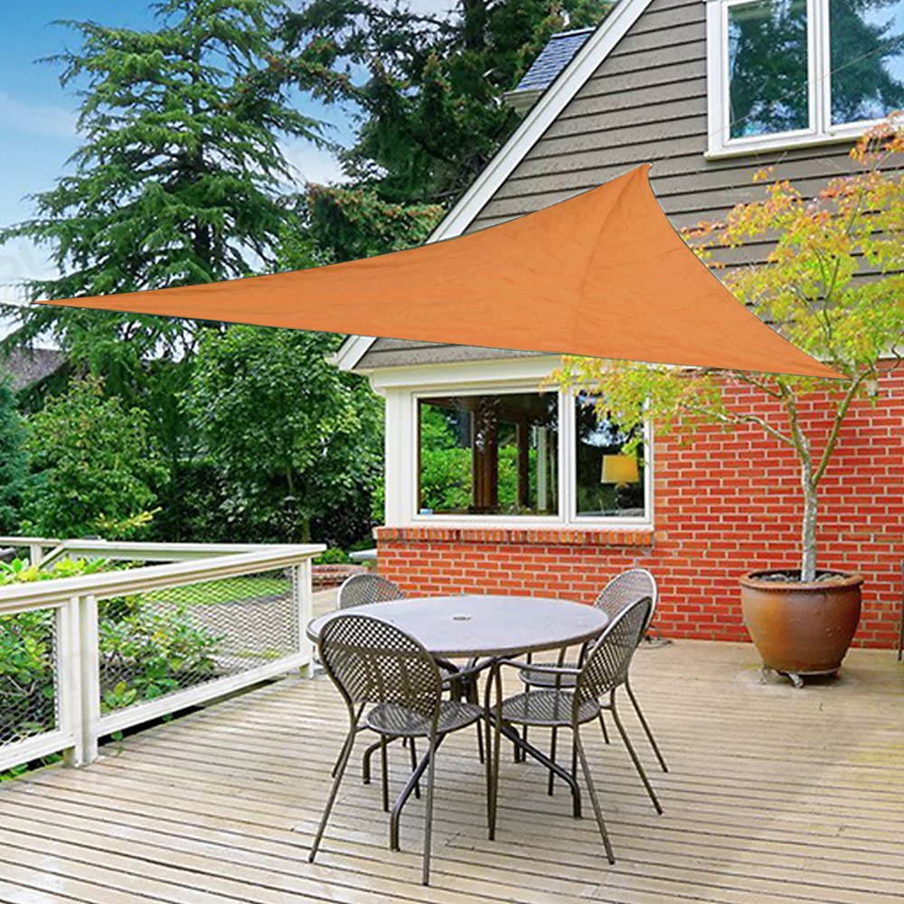 New Sun Shade Sail Patio Outdoor UV Block Top Cover