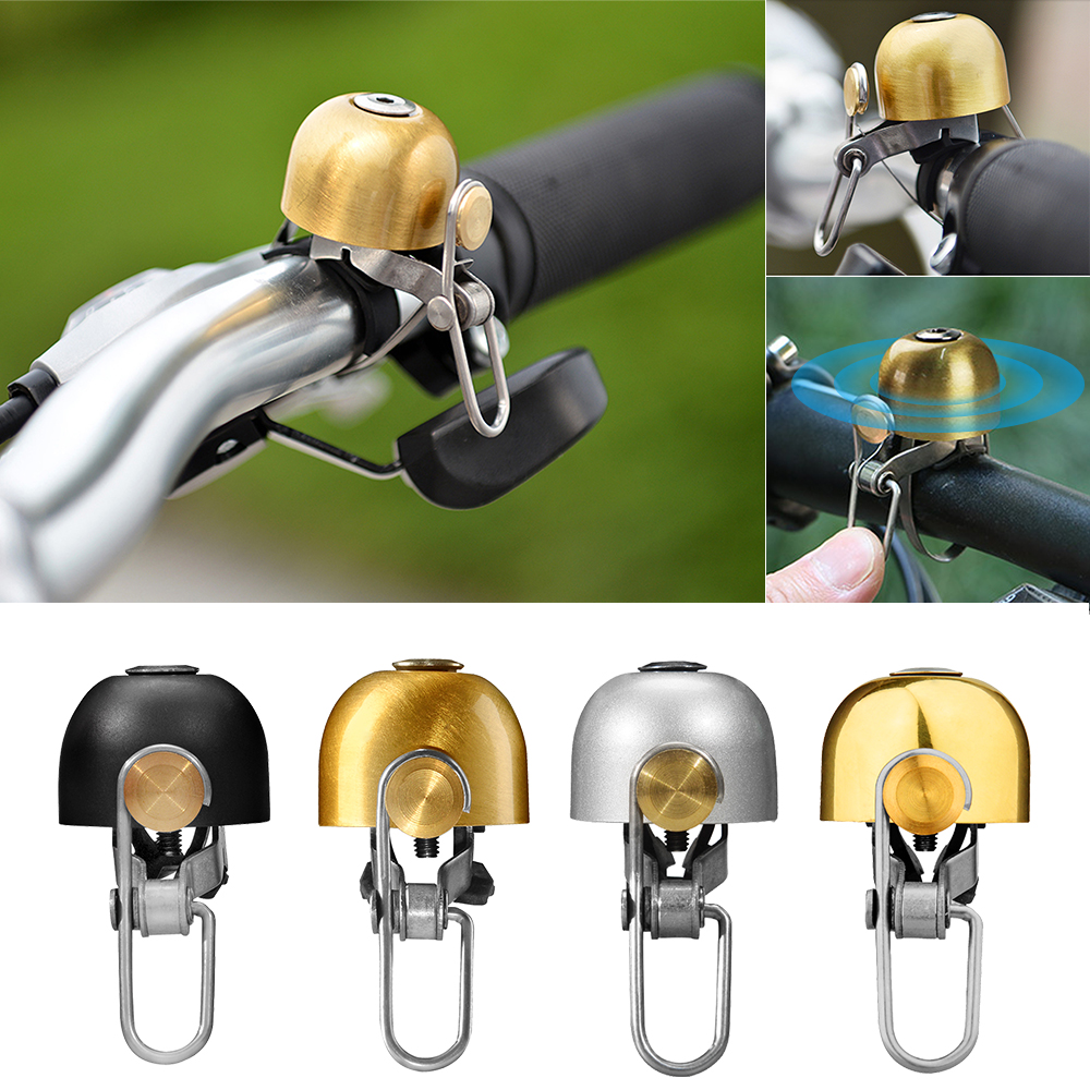 HOT Cycling Bike Bicycle Handlebar Ring Bell Horn Safety Bells Copper Accessory
