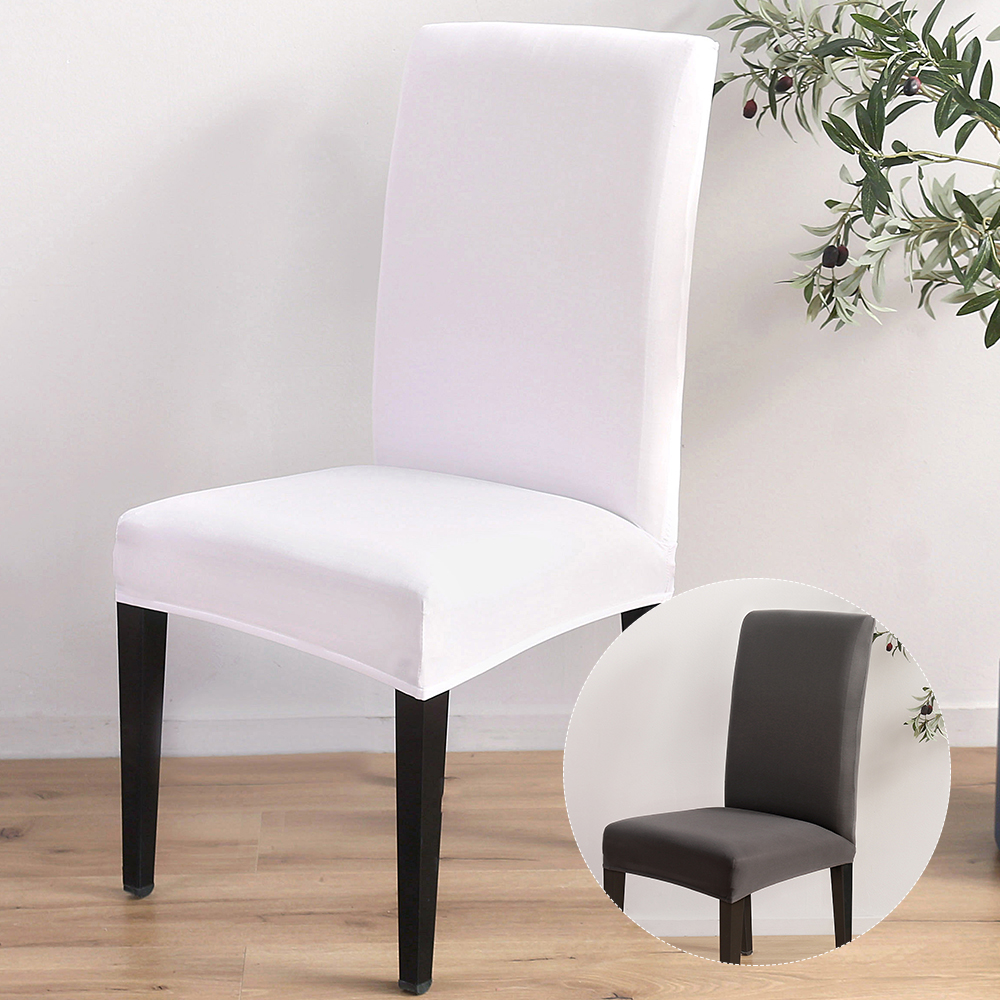 Spandex Stretch Washable Dining Room Chair Cover Protector Seat Slipcovers