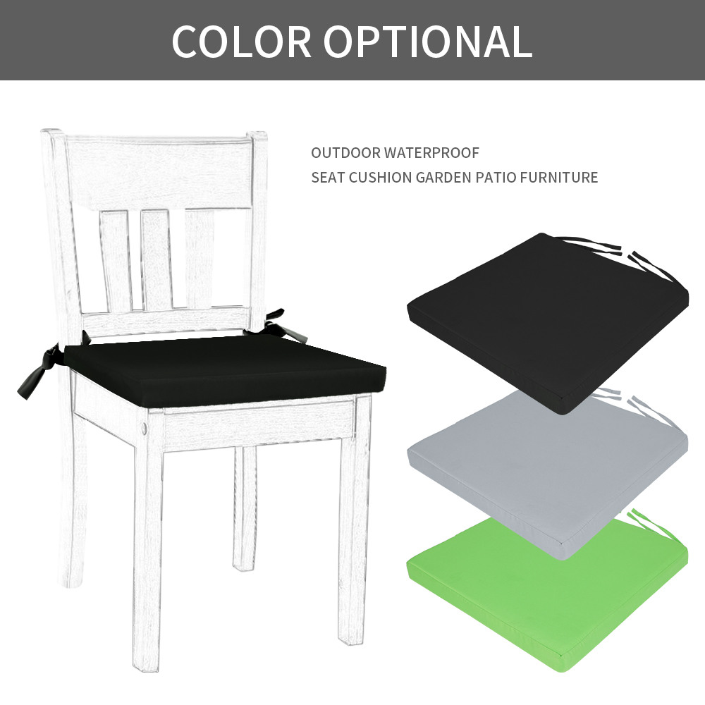 Pleasant New Waterproof Chair Cushion Seat Pads Outdoor Garden Patio Ibusinesslaw Wood Chair Design Ideas Ibusinesslaworg