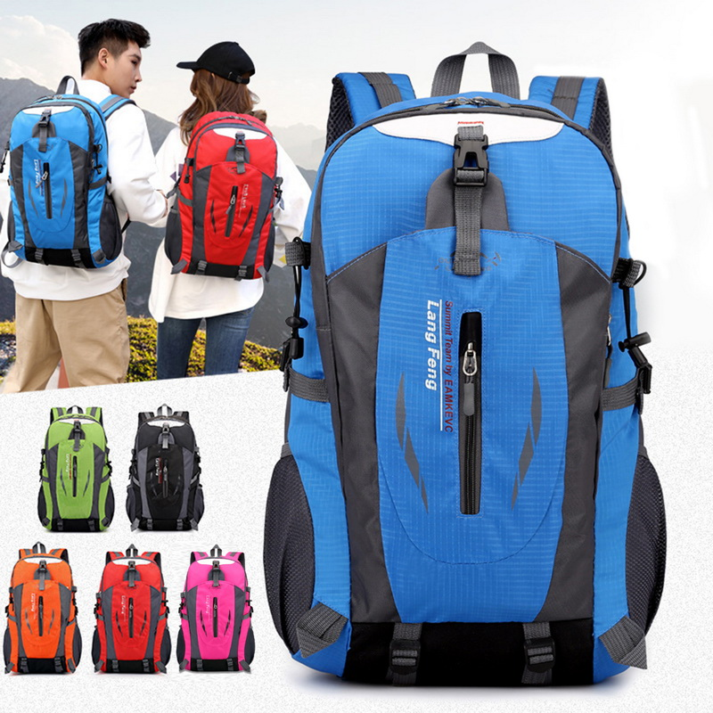 Outdoor Sport Waterproof Mountaineering Rucksack Trekking Bike Bag Backpack