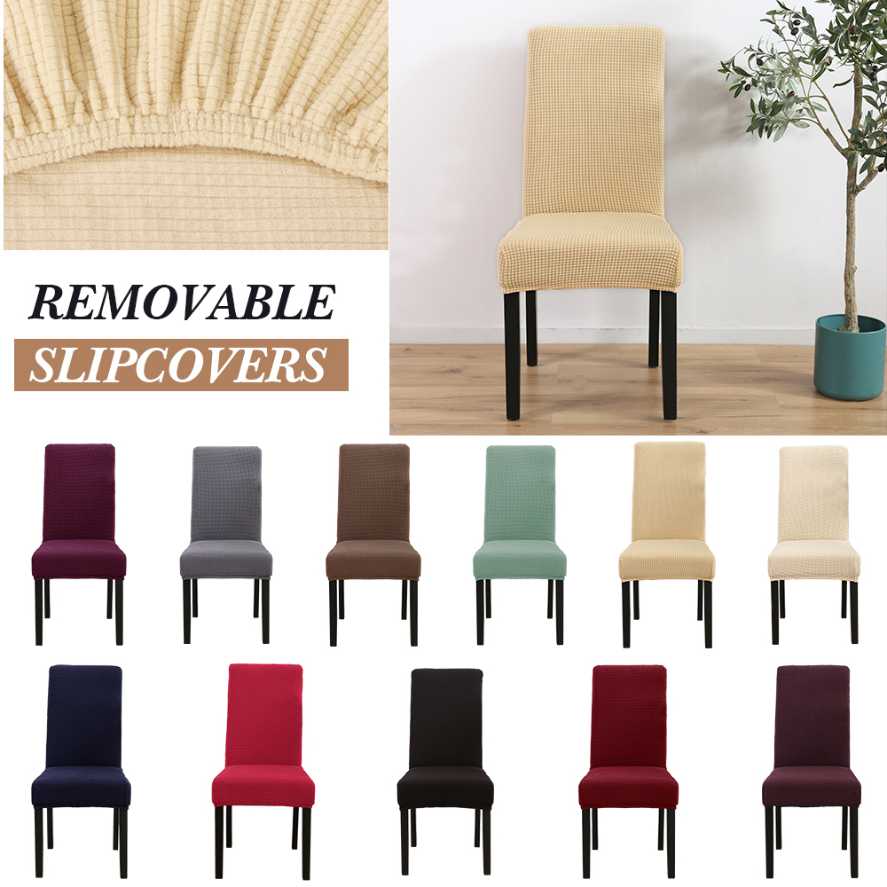 Universal Stretch Chair Covers Protector Slipcovers Dining ...