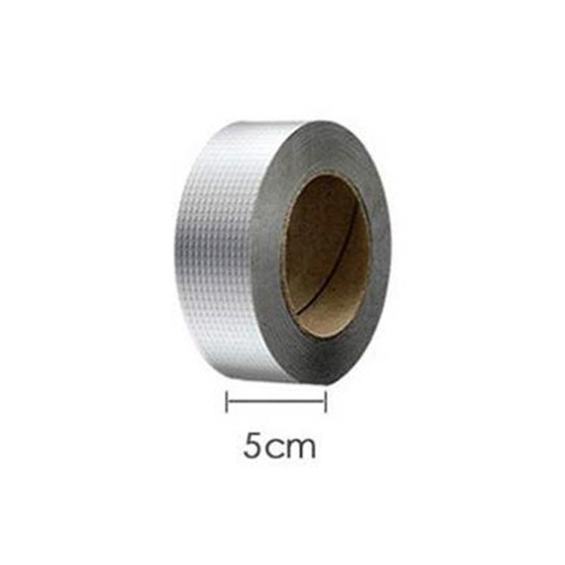 5 cm x 1 m Super wasserdichtes Klebeband Butyl Seal Gummi Aluminiumfolienband