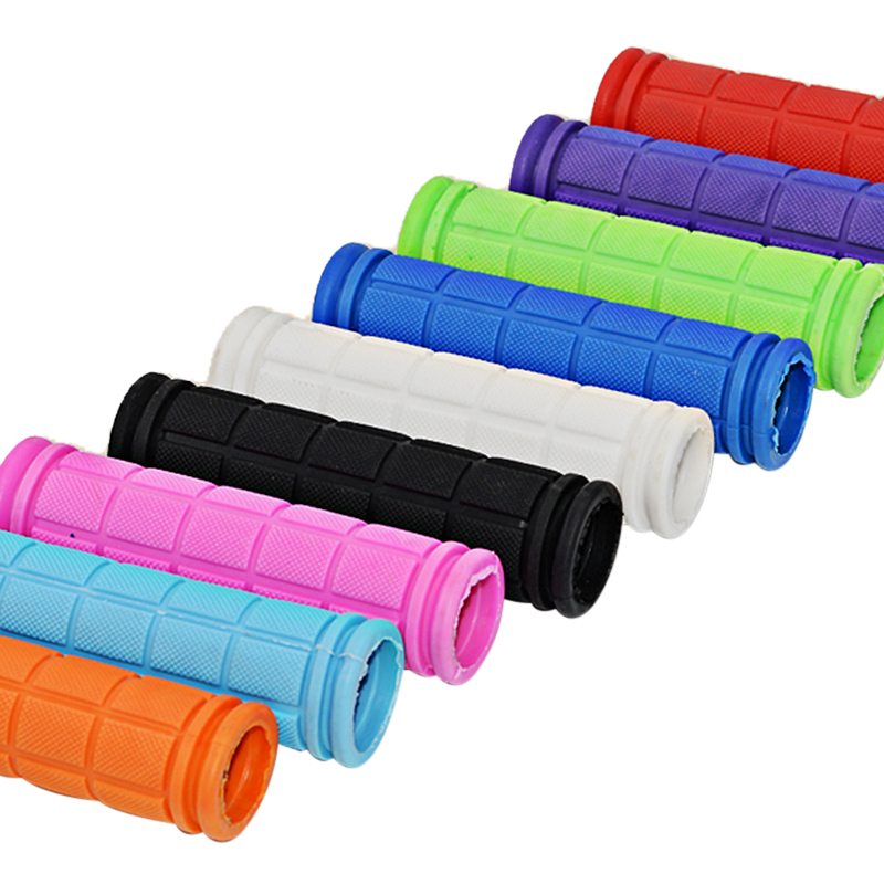 Mountain Bike Bicycle Anti-skid Handlebar Rubber Soft Parts Cycling Cover Grips^