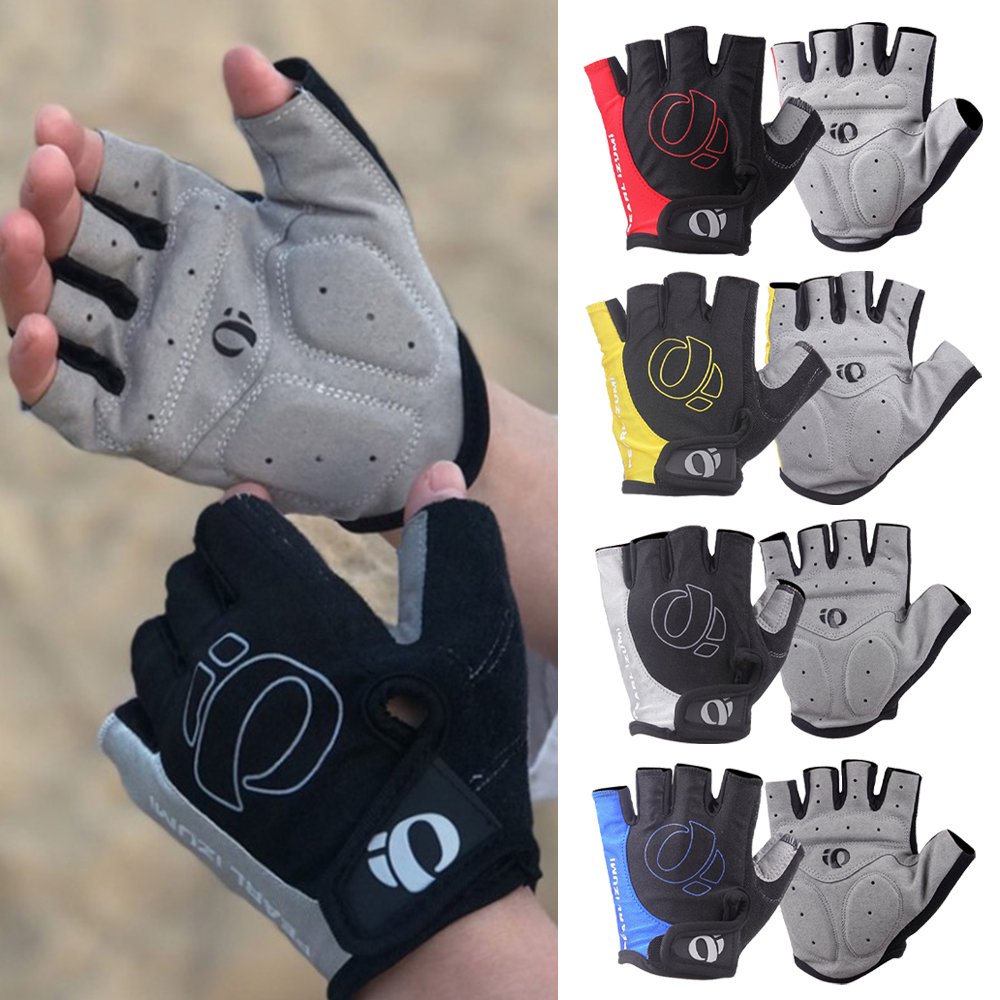 Shockproof Fingerless Sports MTB Road Bike Cycling Glove Gel Half Finger Gloves