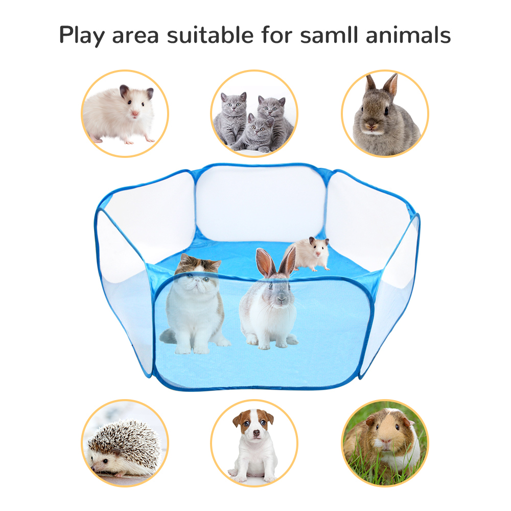 Portable Small Pet Cage Breathable Hamster For Folding Pet Small ...