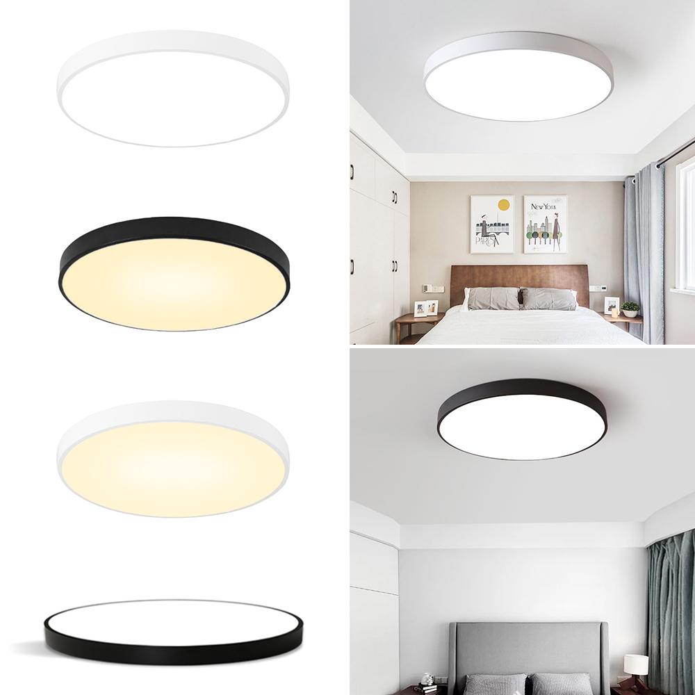 Neu Modern LED Deckenleuchte Deckenlampe Flur Badlampe Wohnzimmer  Küchenlampe JO | eBay