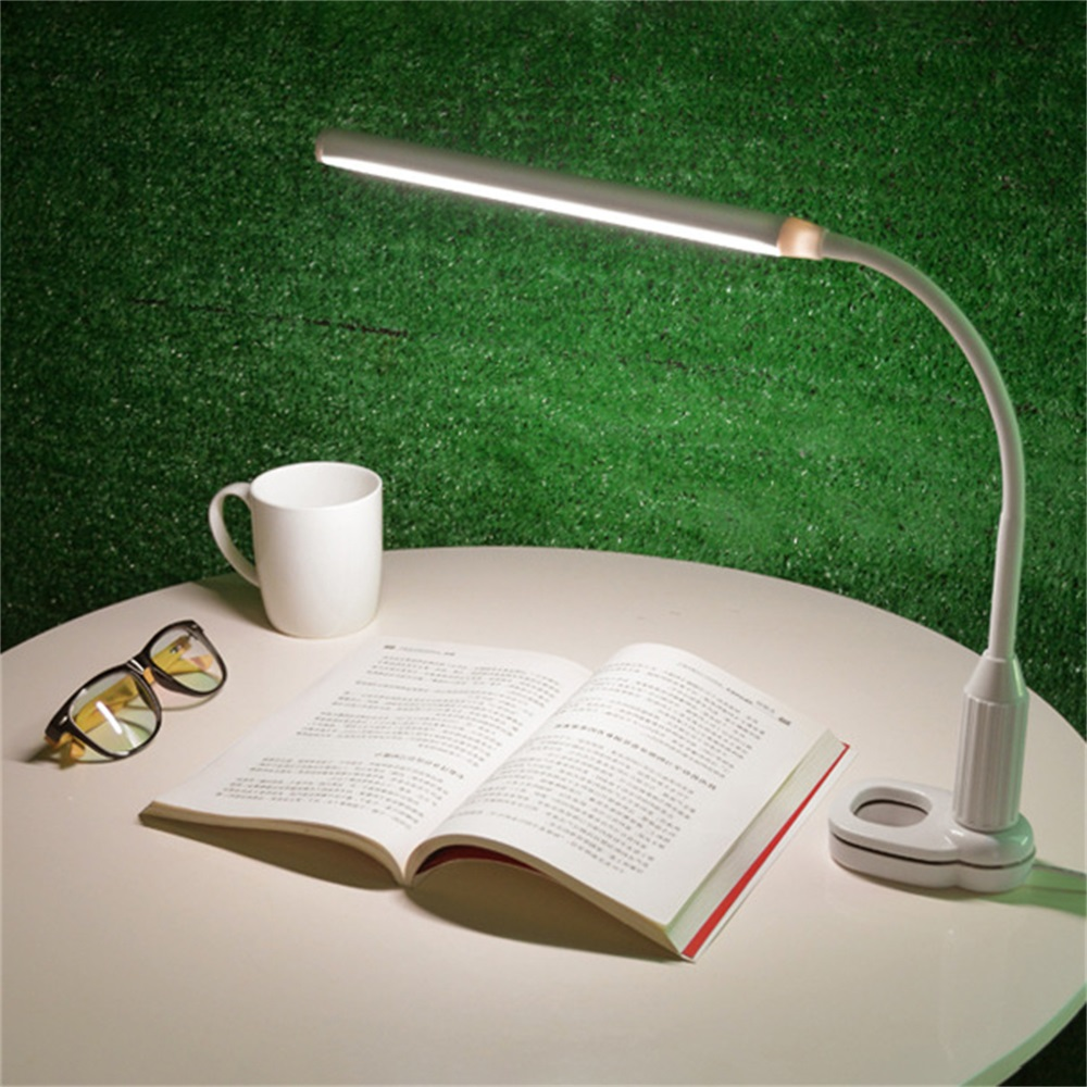Tischlampe LED Schreibtischleuchte Büro dimmbar Augenschutz Nachttischleuchte CN