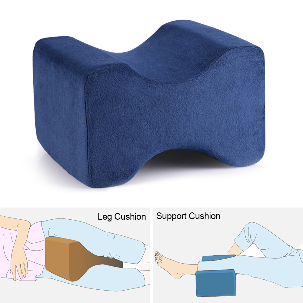 KnieKissen Orthopädisches Gedächtnis Schaum Bein Kissen Die Bein Auflage Formen