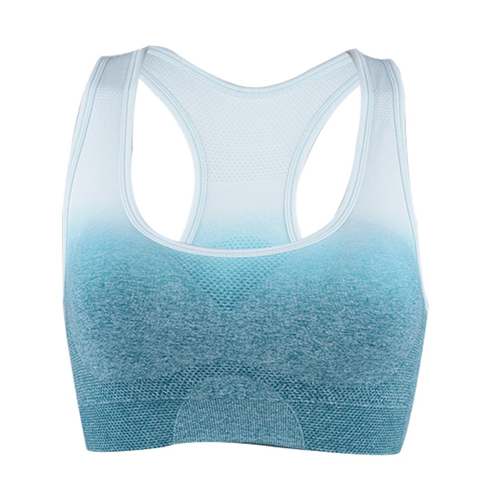 Damen Yoga Joggen Bra Sport Top BH Training Fitness Tanzen Sportbh Bra new P//D