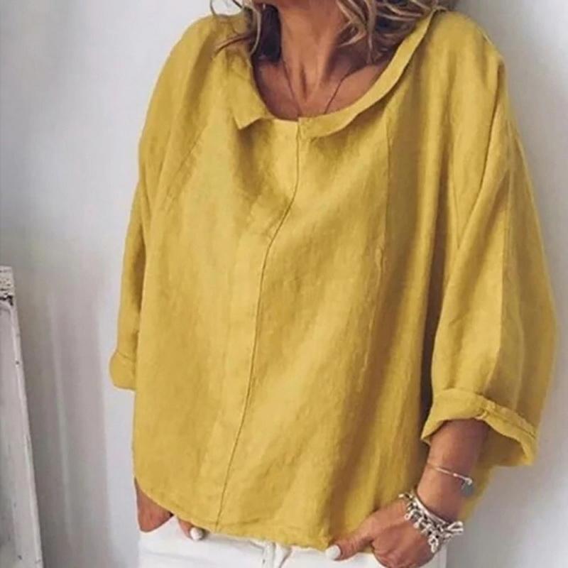 Damen Schulterfrei Kurzarm Blouson T-Shirt Bluse Tops Sommer Hemd Oberteil S-5XL