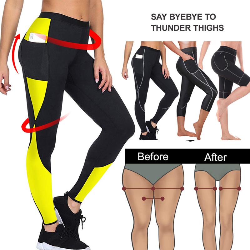 Mieder Hosen Thermo Neopren Legging Sauna Abnehmen Sport Schwitzen 101