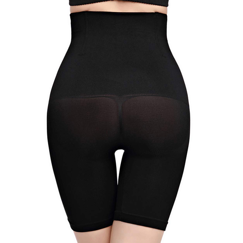Damen Bodyshaper Hohe Taille Miederhose Bauchweg Slim Fit Pants Shapewear Hosens